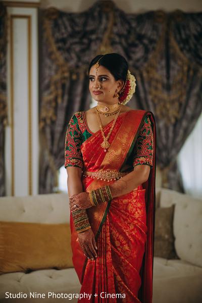 Gorgeous indian bride capture