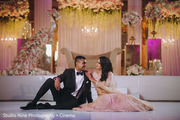 Lovely Indian bride and groom photo shoot.