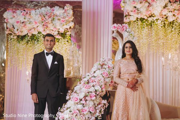 Amazing Indian bride and groom photo idea.