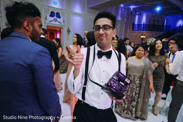 Wonderful capture of Indian wedding celebration.