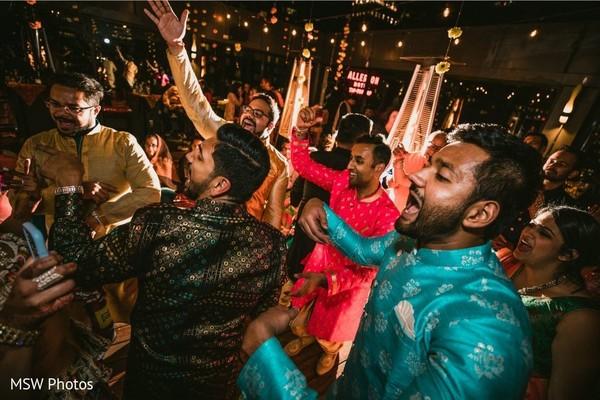 Incredible Indian Sangeet celebration.