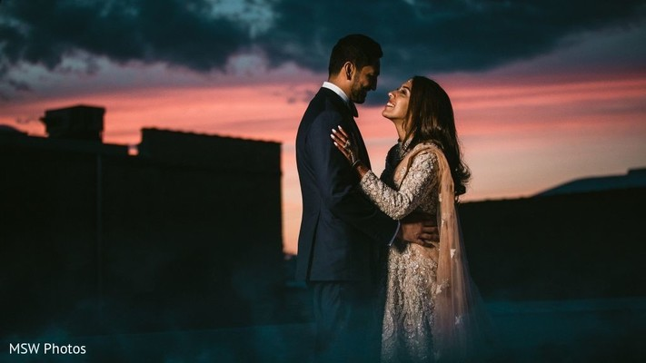 Insanely beautiful indian couple's photo session.