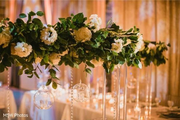 Fascinating Indian wedding flowers decoration.