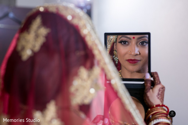 Majestic indian bridal makeup