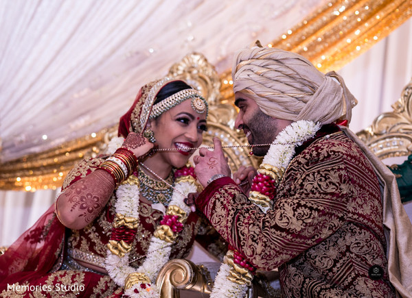 See this romantic indian bride and groom capture