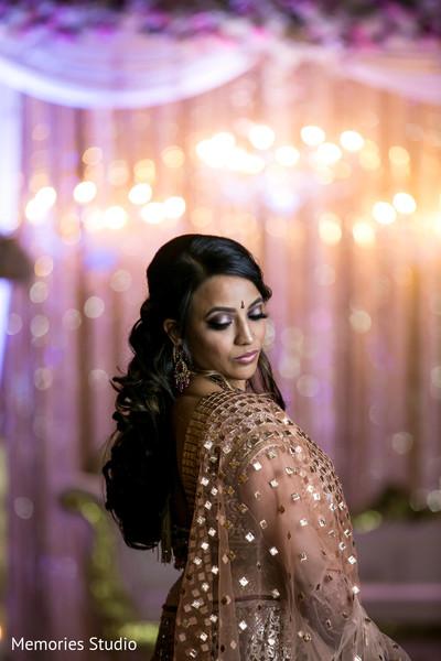 Insanely beautiful indian bride portrait
