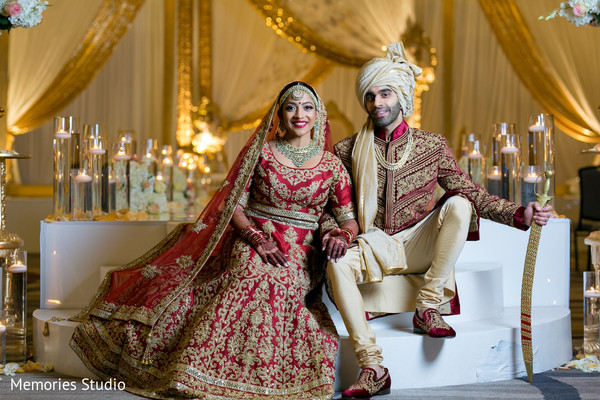 See this upbeat Indian bride and groom