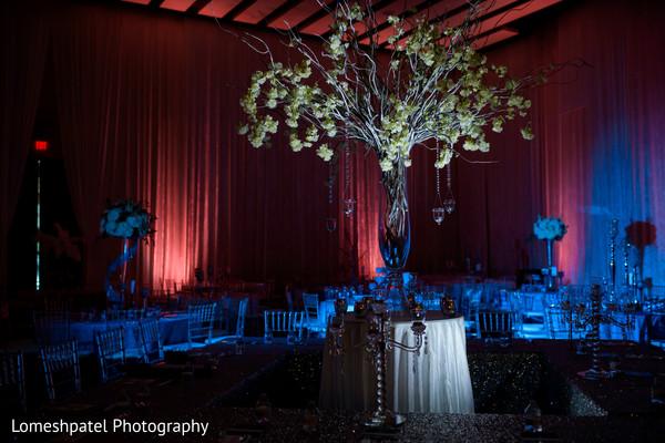 Indian wedding decor details.