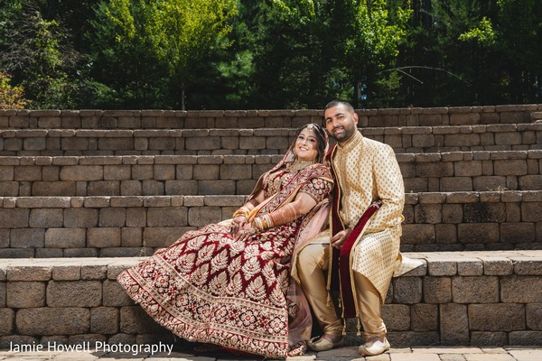 Sensational outdoor themed Indian couple's photo shoot