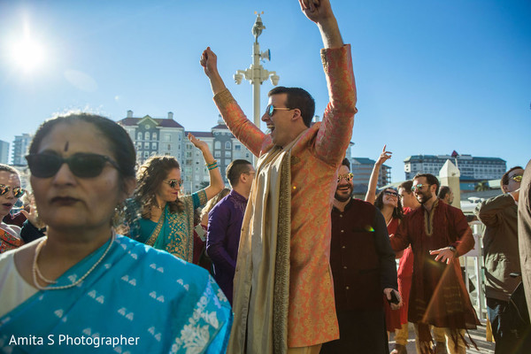 Take a look at our happy Indian groom.
