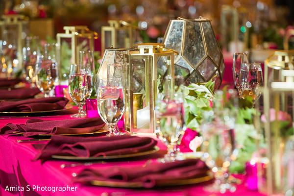 Elegant table decoration.