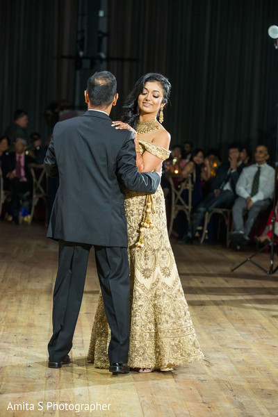 Maharani dancing with her father,