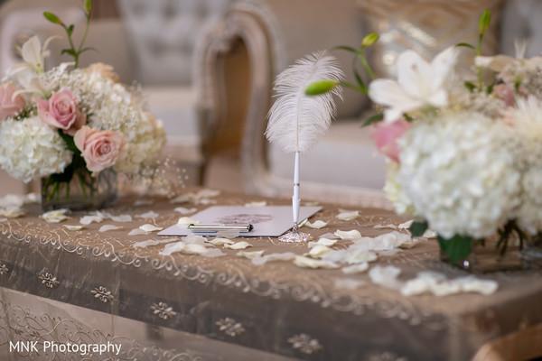 Amazing wedding ceremony floral decor