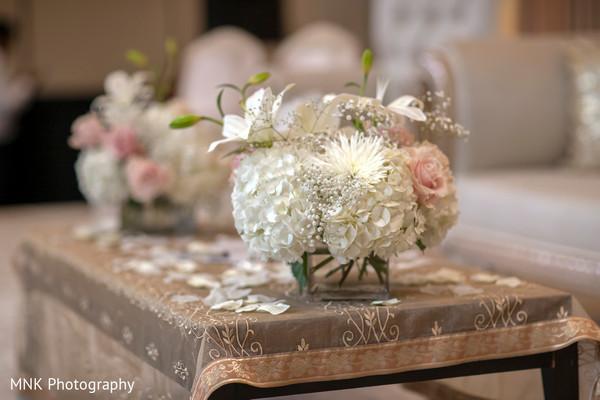Indian wedding ceremony floral decor