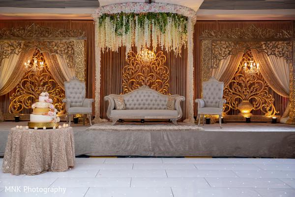 Indian wedding stage decor