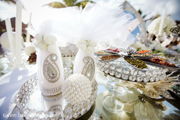 Dreamy Indian wedding ritual items.