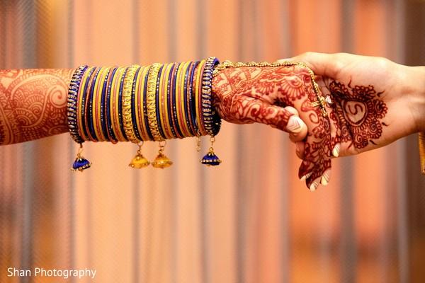 Stunning Indian bridal Sangeet chooras set.