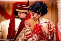 Radiant indian wedding photo shoot.