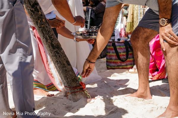 Incredible Haldi ritual capture.