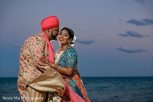 Most romantic Indian wedding photo shoot.