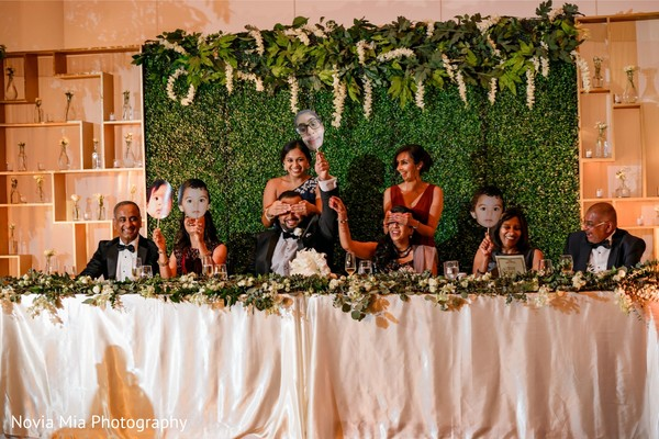 Take a look at this Indian wedding reception game.