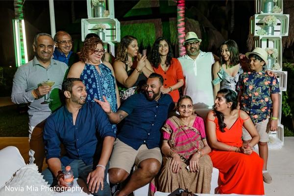 Maharani and rajah with relatives capture.