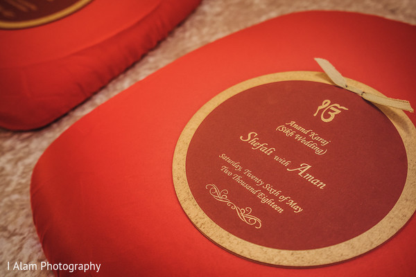 Indian wedding details.