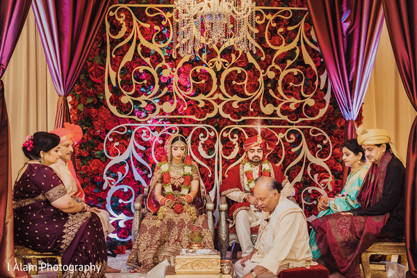 Gorgeous Indian wedding decor.
