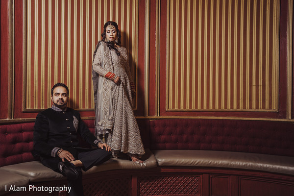 Maharani and Raja during the photo session.