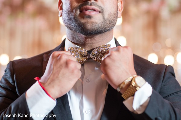 Indian groom looking stunning.
