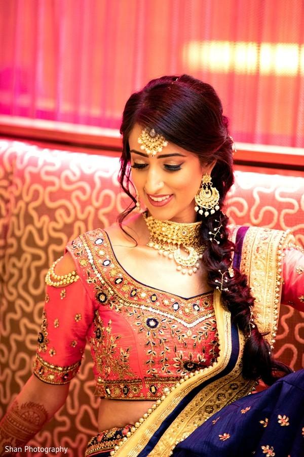 Incredible Sangeet look for maharani.