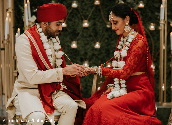 Gorgeous Maharani and Raja getting married.