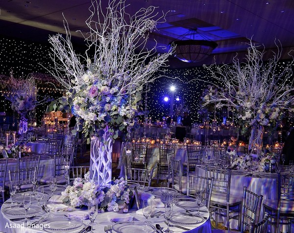 Take a look into this stunning wedding centerpiece