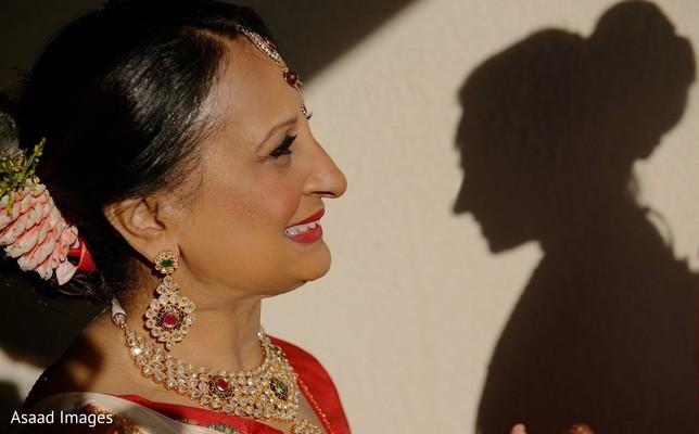 Incredible India bridal relative photo.