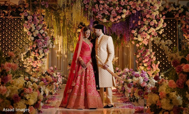 Dreamy indian soulmates posing for photo shoot