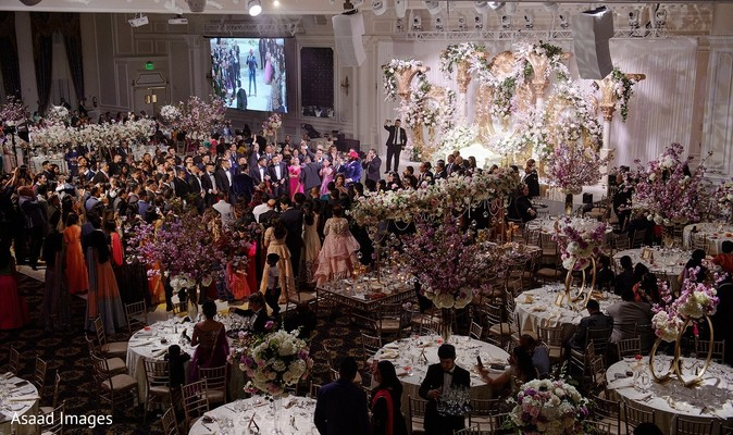 See this dream indian wedding reception venue