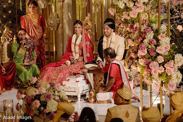 Take a look at this traditional indian wedding ceremony