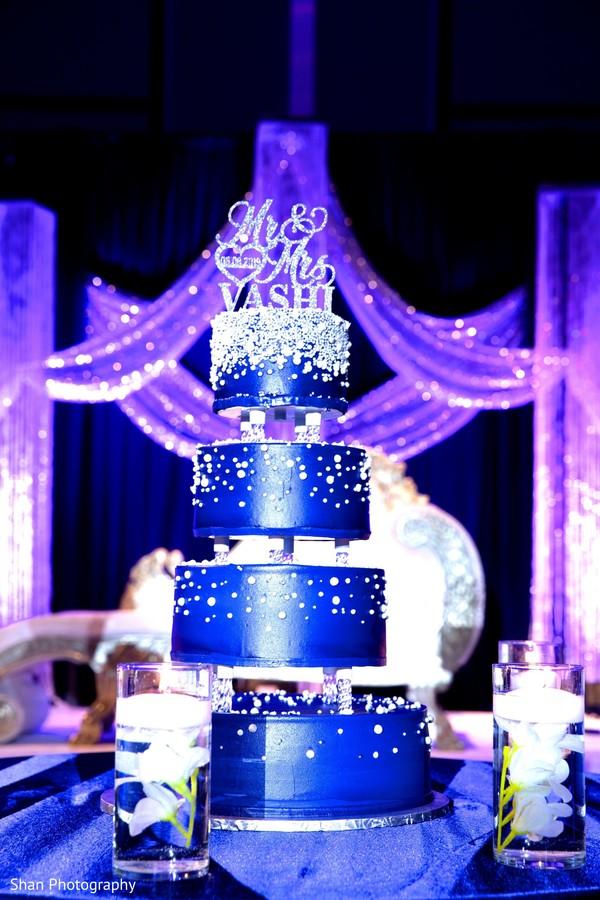 Incredible India wedding cake decor.