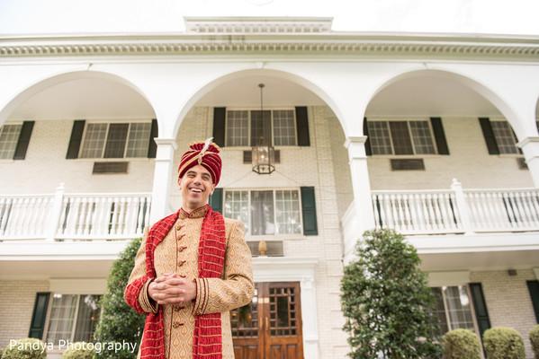 Raja waiting for his Maharani.