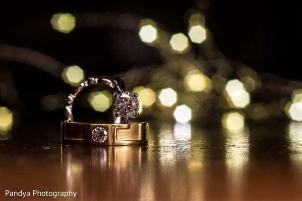 Majestic wedding rings.