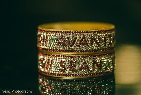 Personalized Indian wedding chooras.