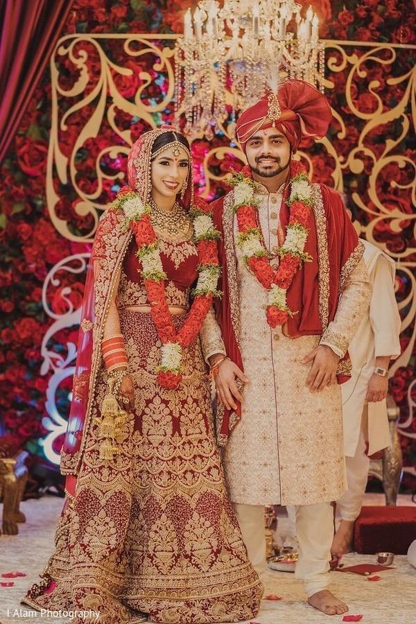 Stunning capture of the newlyweds.