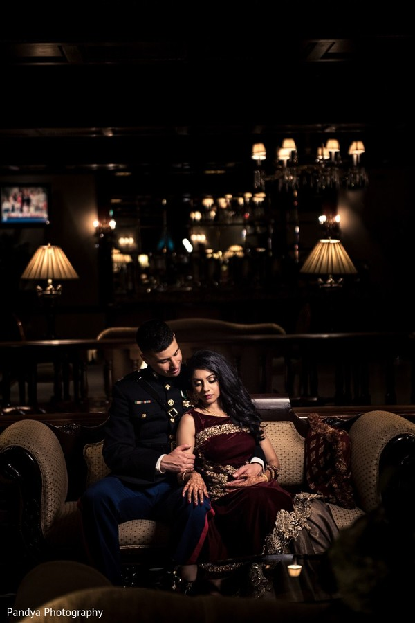 Enchanting Indian couple photo.