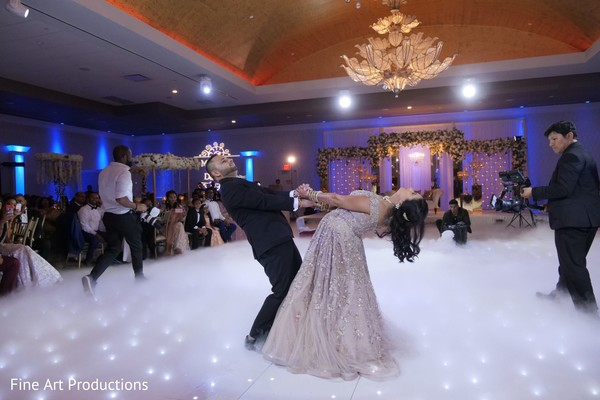 See this gorgeous dance moves from the Indian newlyweds.