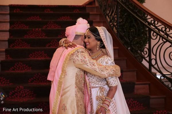 See this Indian groom's beige sherwani style.