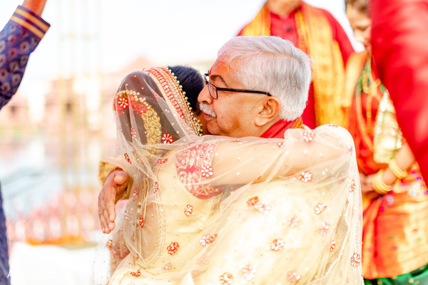 See this moment between indian bride and her father