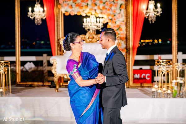 See this lovely dance between indian groom and his mother