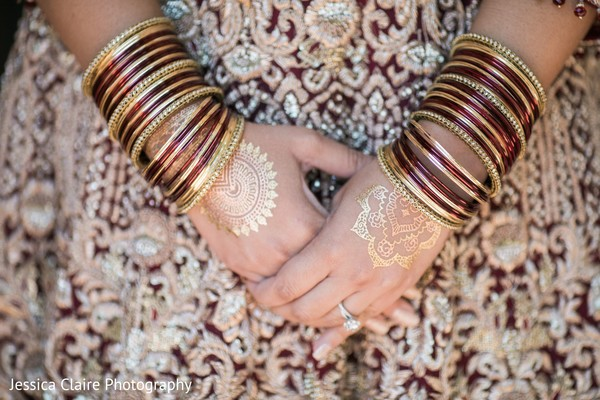 India bridal ceremony bangles.
