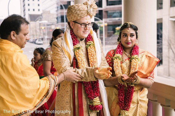 Indian wedding ceremony moments.