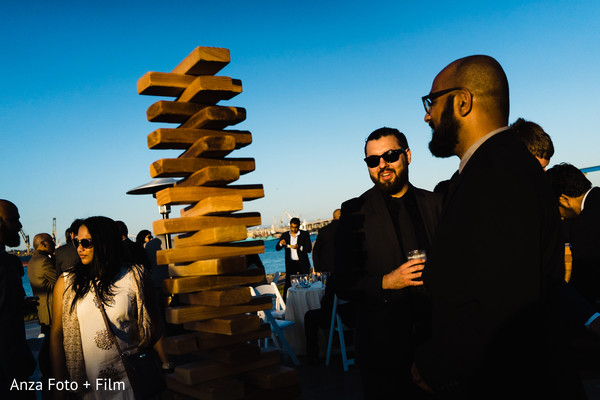Wooden blocks for Indian pre-wedding decoration.